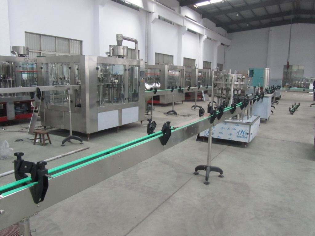 Mango Juice Filling Machine High Capacity 300 ml-2000 ml PET Bottles / Glass Bottle