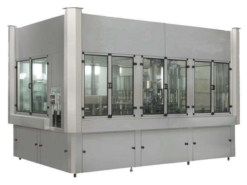 Stable Hot Juice Filling Machine 2000 BPH – 20000 BPH Capacity For Pet Bottle