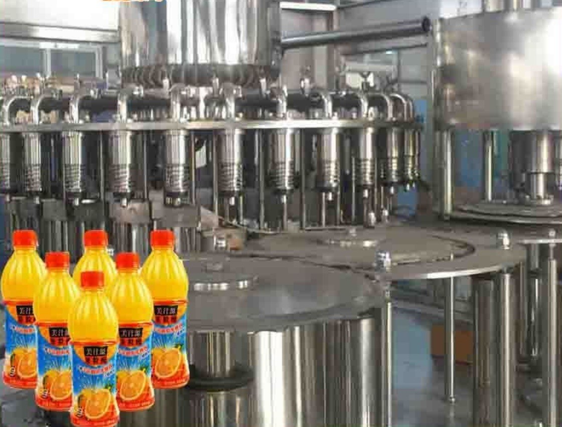 Litchi / Pulp Juice Filling Machine High Capacity Semi- Automatic CE Certificate