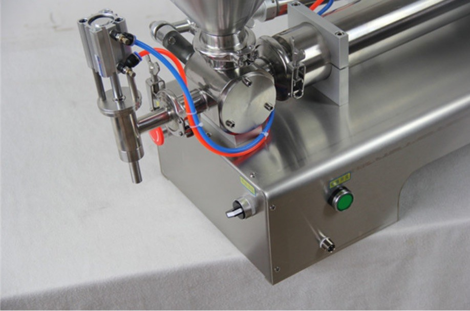 Small Manual Cosmetic Cream Filling Machine Stainless Steel 304 For Toothpaste / Shampoo