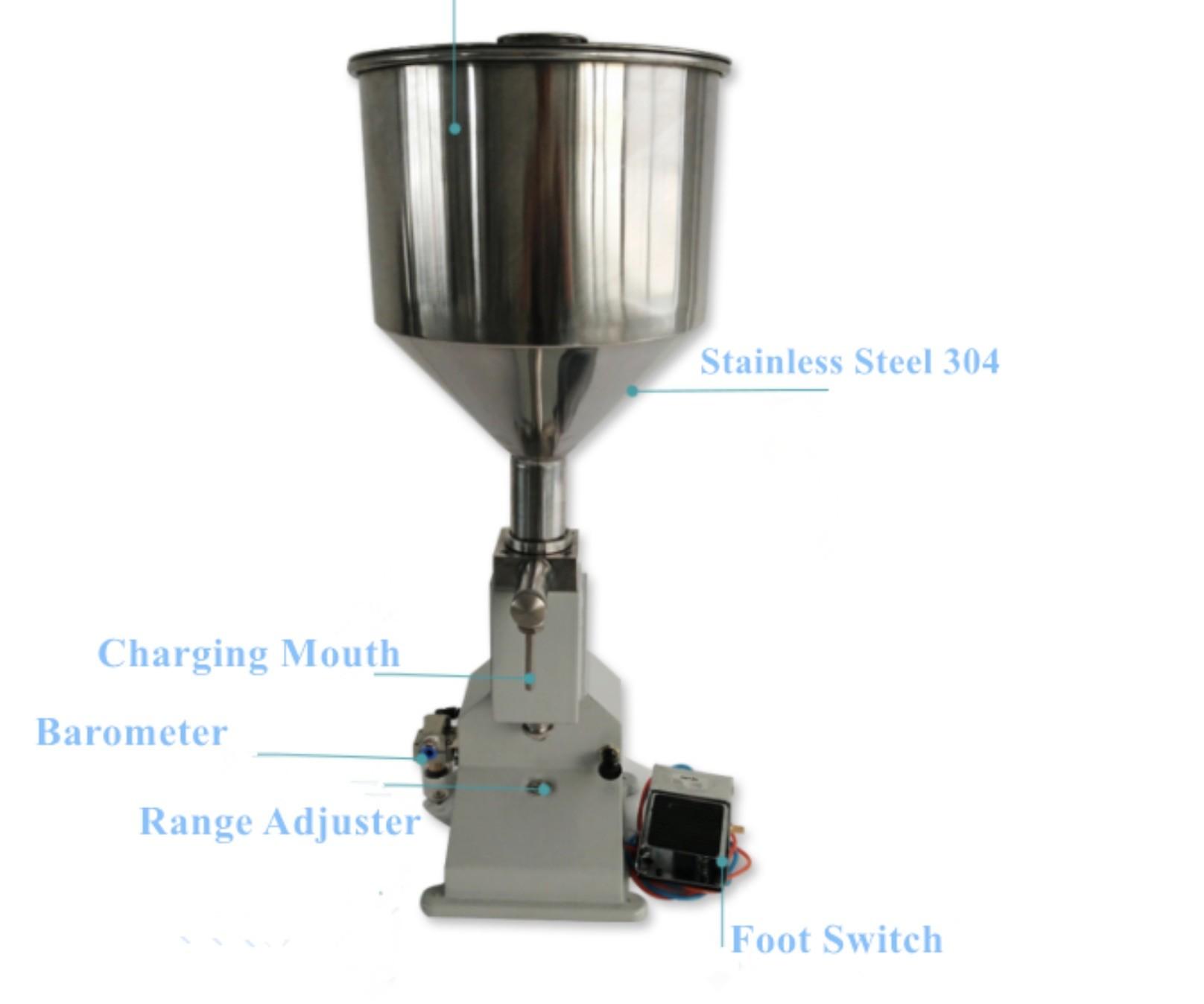 20-50Pcs/M Small Cosmetic Bottle Filling Machine , 5-70ml Shampoo Filling Machine
