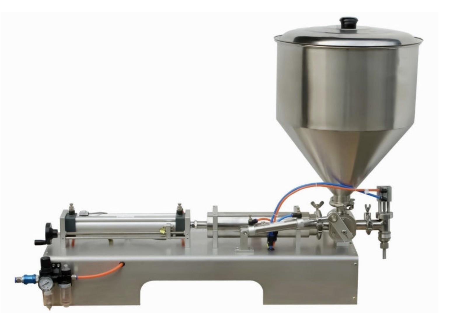 Semi Auto Cosmetic 5-100ml Single Head 30-60 BPM Shampoo Filling Machine