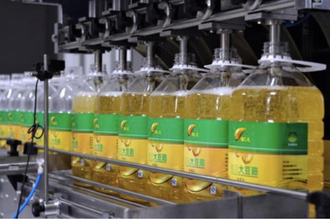 5000 BPH-20000 BPH Oil Bottle Packing Machine Automatic For 0.5L – 5L Bottle