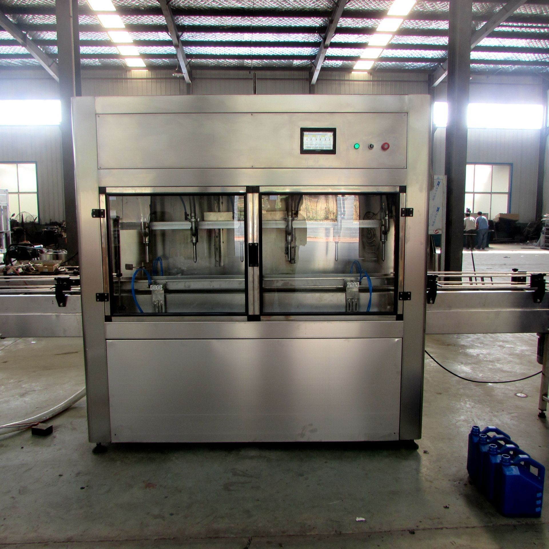 SUS304 PET Bottle Edible Oil Bottle Filling Machine For Non Viscous Liquid Filling