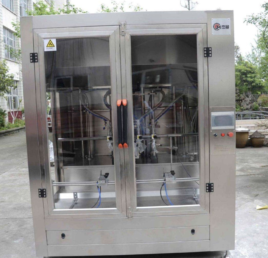 Full Automatic Cooking Oil Filling Machine , Edible Oil Packaging Plant For Pet Bottle