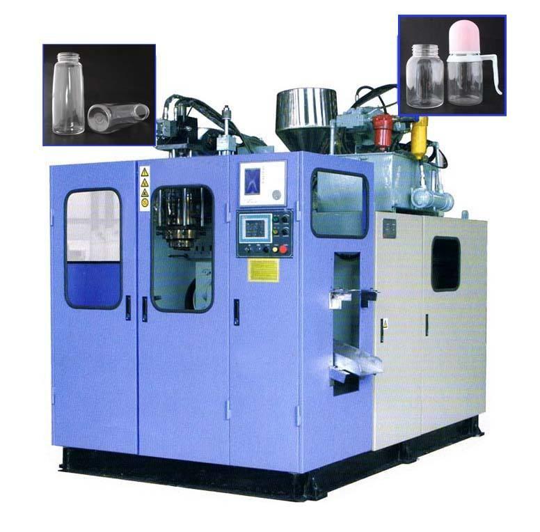100-2000ml Small Plastic Bottle Making Machine , Semi Automatic PET Bottle Blowing Machine