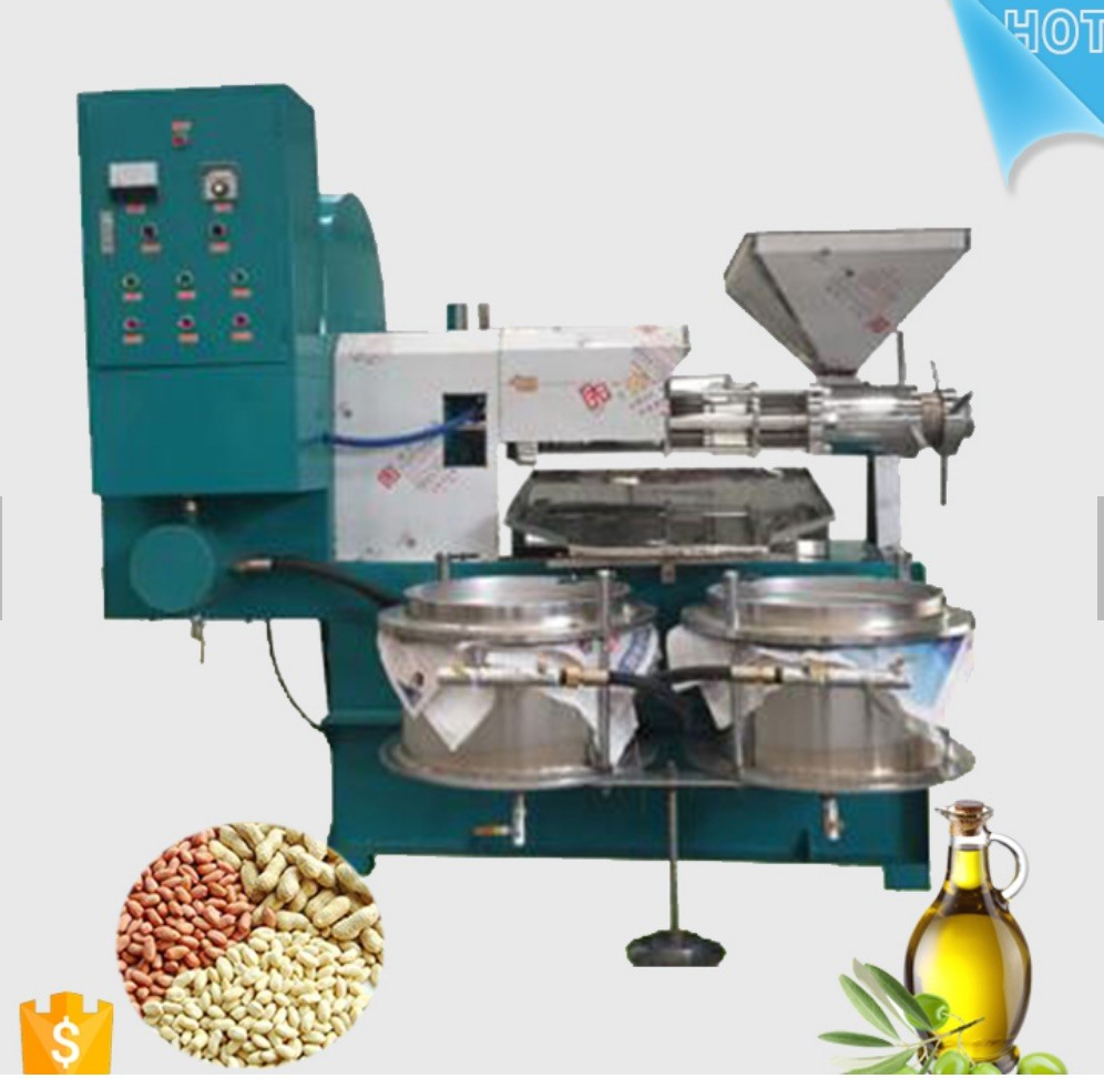 300-500kg/Hr Edible Oil Production Line Full Automatic For Palm Oil / Sesame Oil