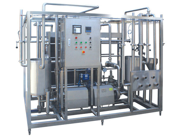 1T / H – 5T / H UHT Milk Processing Line Small Scale UHT Milk Processing Plant