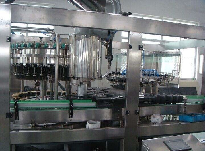 High Efficient Complete Beverage Filling Line High Capacity 14000 BPH