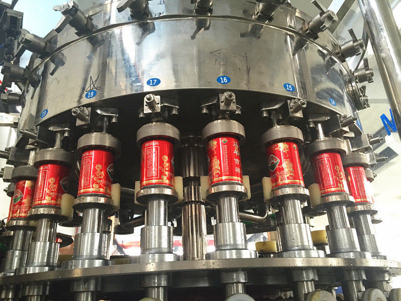 Carbonated Beverage Filling Line 5000 -10000 Can Per/ Hour Drink Canning Machine