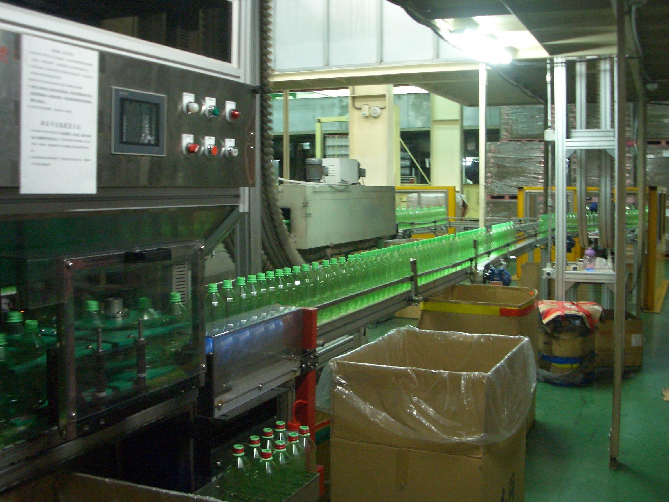 Complete Carbonated Beverage Filling Line 6000-12000 BPH For Glass Bottle