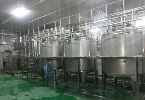 Stainless Steel Fruit Juice Processing Line 2T-5T/H Apple Juice Production Line