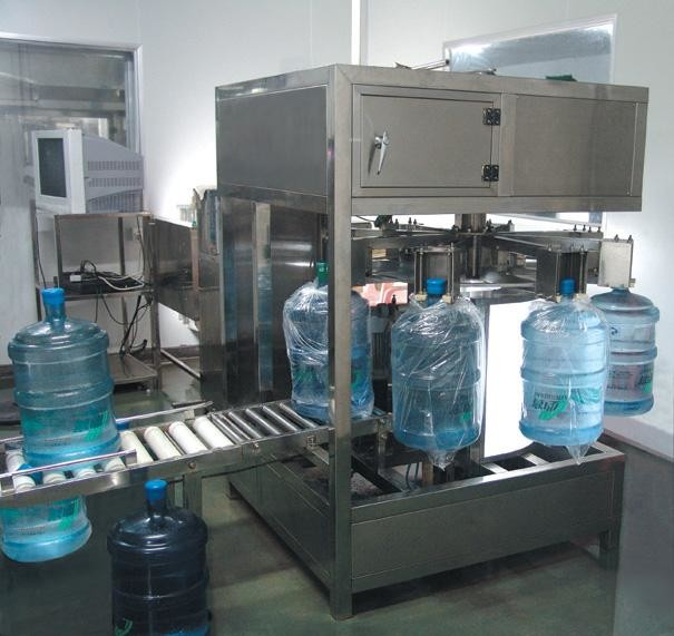 100-5000 BPH Drinking Water Filling Machine Single / Double Nozzle For Pet Bottle