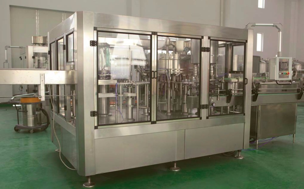3000 – 2000 BPH Drinking Water Filling Machine 3 In 1 Washing Filling And Capping Machine