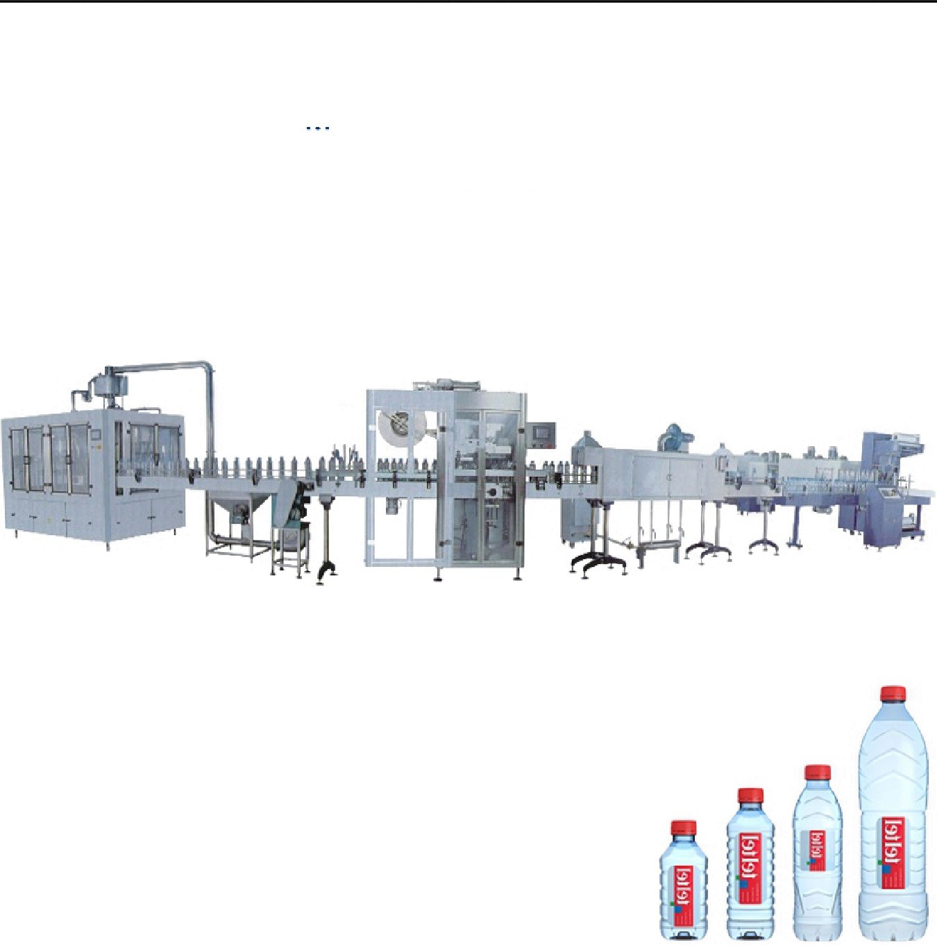 PET Bottle Drinking Water Filling Machine 5000 BPH – 14000 BPH For Mineral Water