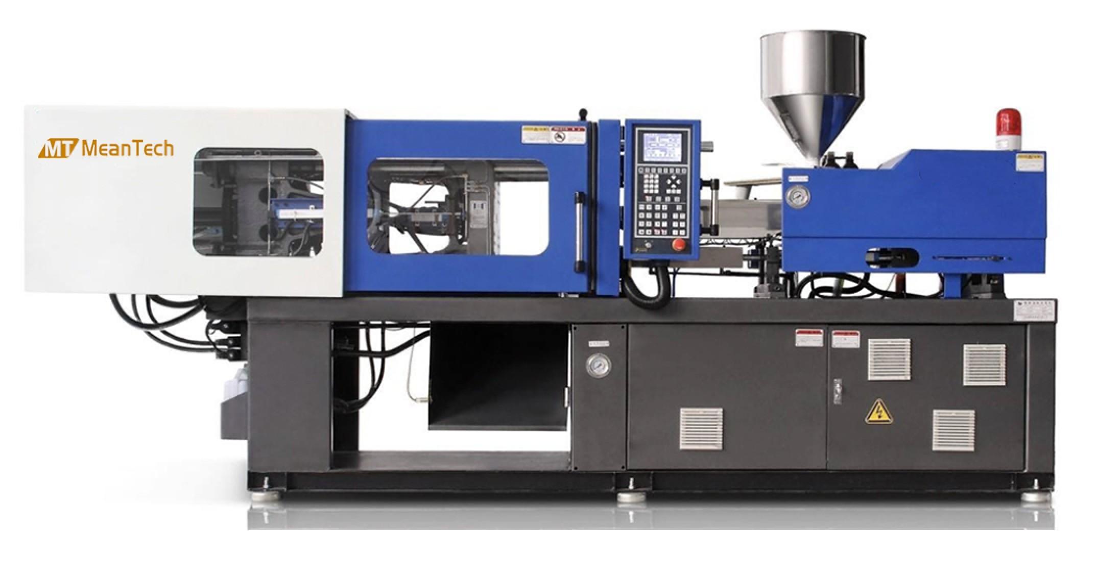 Less Energy Pet Bottle Blowing Machine , 80 Ton PET Preform Molding Machine