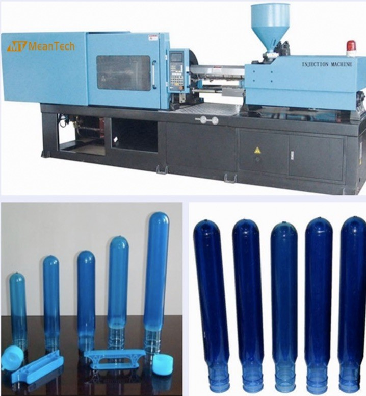 170 Ton Automatic Plastic Injection Moulding Machine Horizontal Style Preform Injection