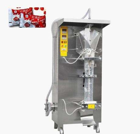 30-60 bags / min Automatic liquid sachet packing machine for water,milk,juice,source