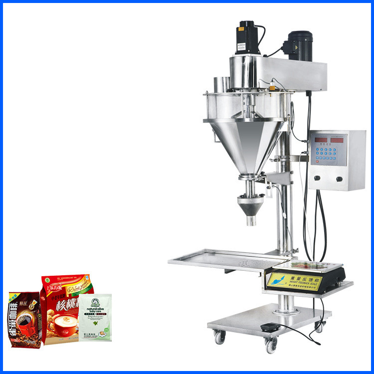 Semi-automatic Powder Packaging Machine, Machine Packaging for flour ,baby powder,coffee